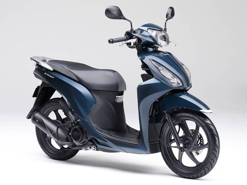 Honda Dio 110 2019 Metallic blue
