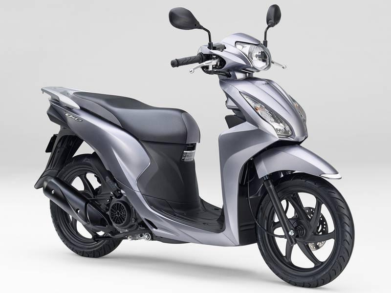 Honda Dio 110 2019 Bạc ánh kim