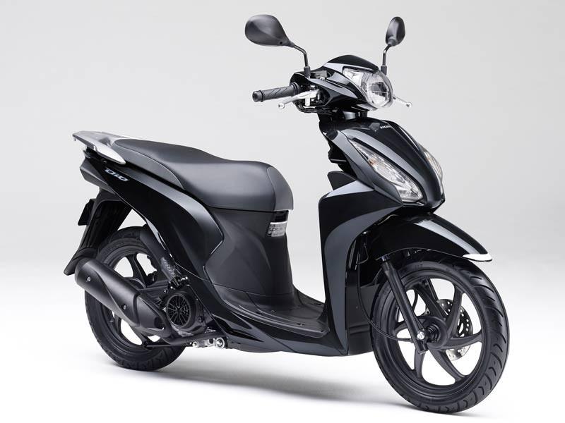 Honda Dio 110 2019 Black metallic