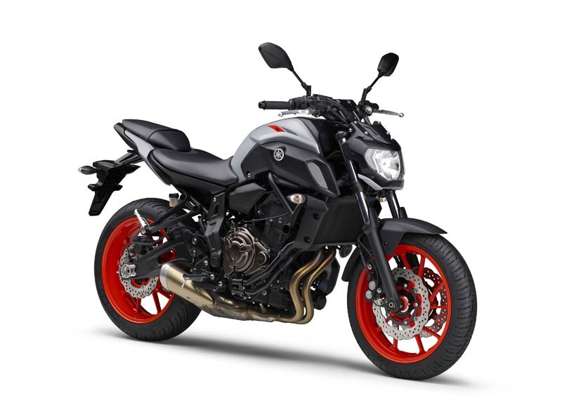 Yamaha MT-07 20219 có thêm màu Xám