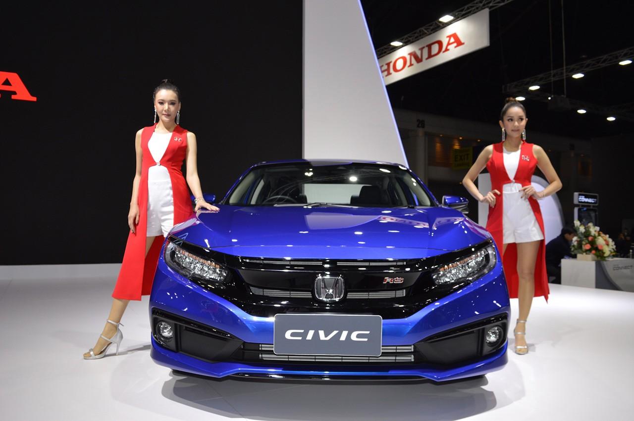 Honda Civic mới được đưa về sẽ chỉ là phiên bản nâng cấp nhẹ