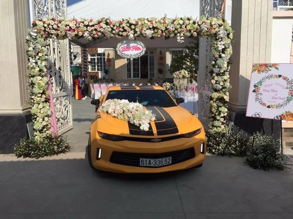 Chevrolet Camaro đời 2017 của một người chơi xe tại Bình Dương