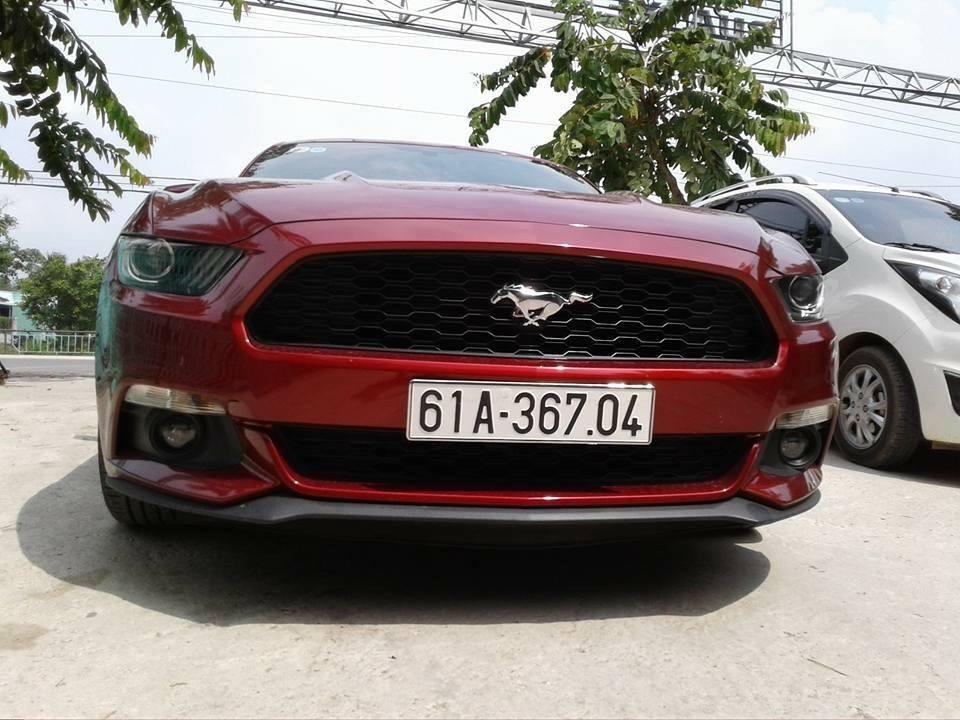 Còn đây là chiếc Ford Mustang thế hệ thứ 6 đời đầu