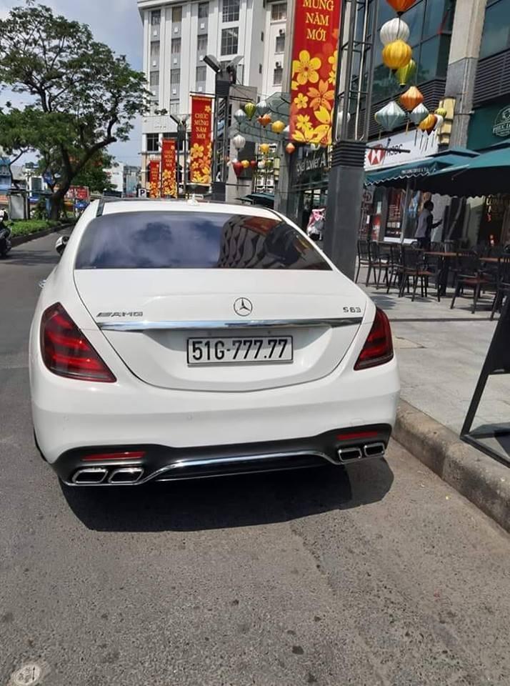 Mercedes-Benz S-Class biển ngũ quý 7 của biker Sài thành