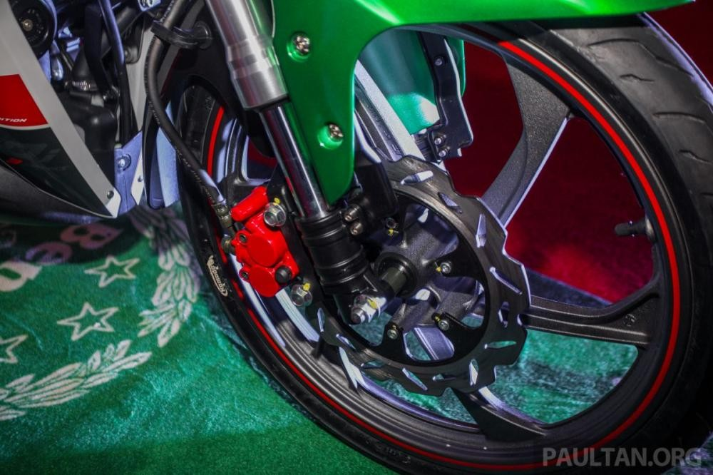 The RFS150i has a pair of USD front forks that are worth the price