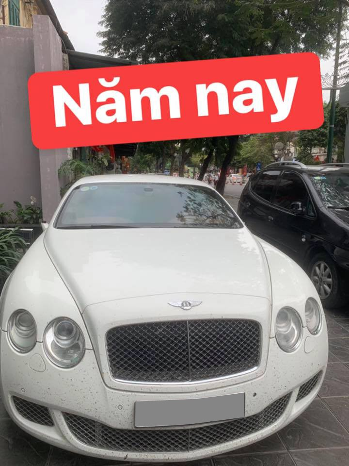 Chiếc Bentley Continental GT Speed bị kẻ gian vặt gương