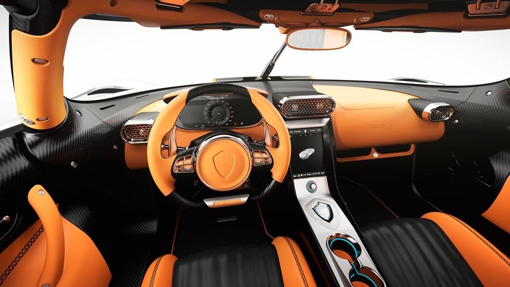 Nội thất của siêu xe triệu đô Koenigsegg Regera Ghost Package