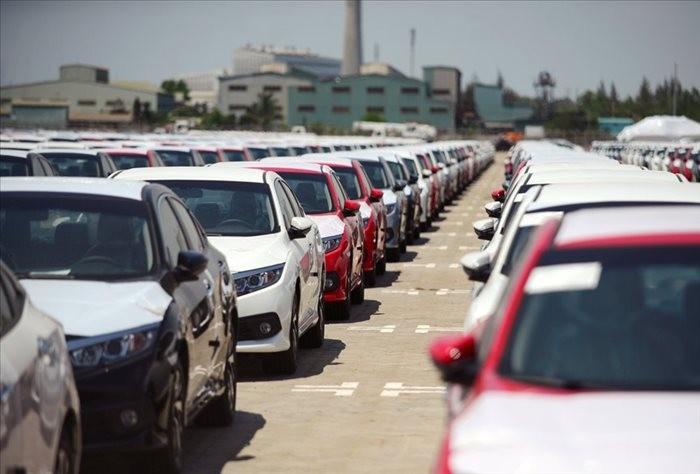 2018 là năm có số lượng xe con nhập khẩu nhiều nhất đạt 54.000 chiếc