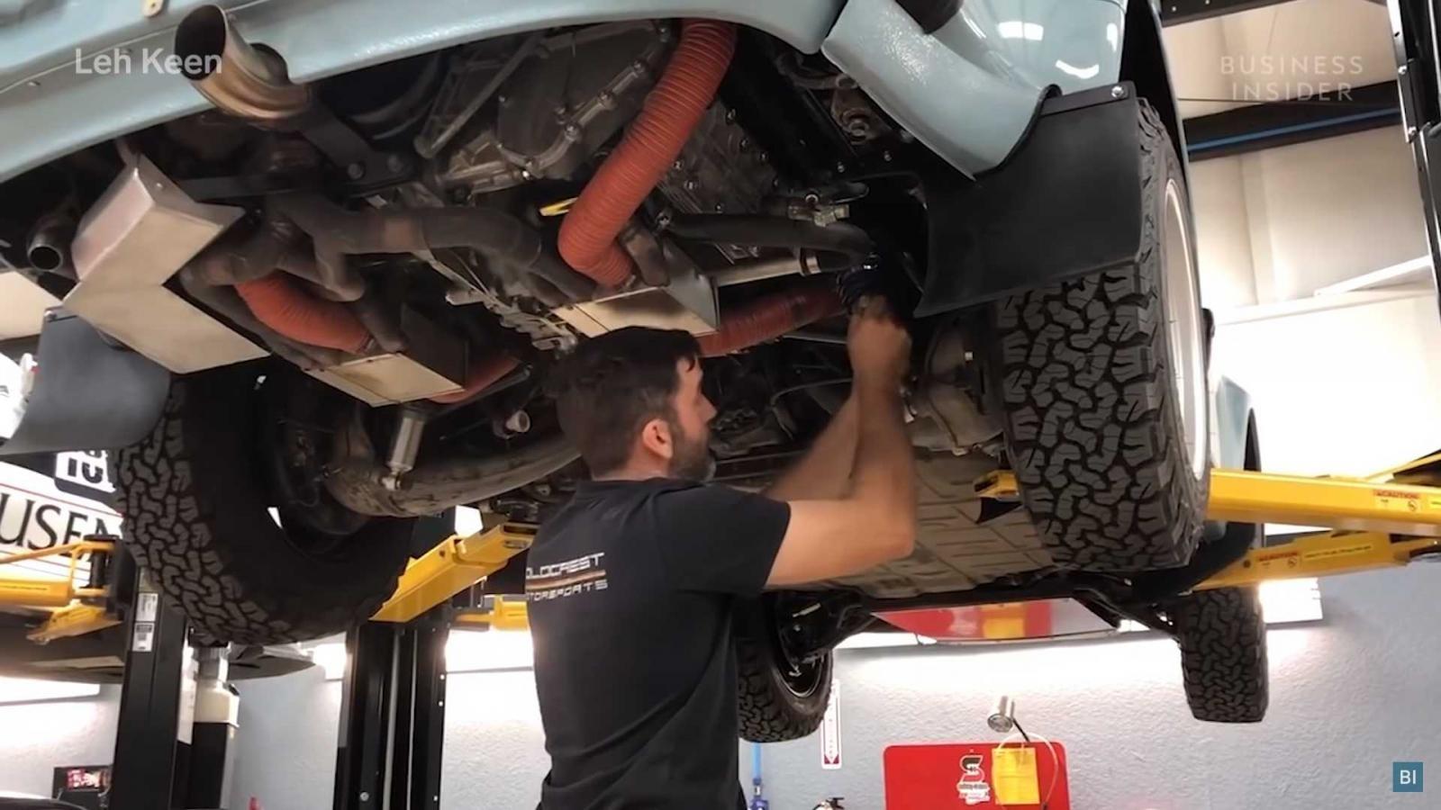 Mỗi chiếc 911 cổ điển off-road đều được tiến hành chuyển đổi một cách thủ công