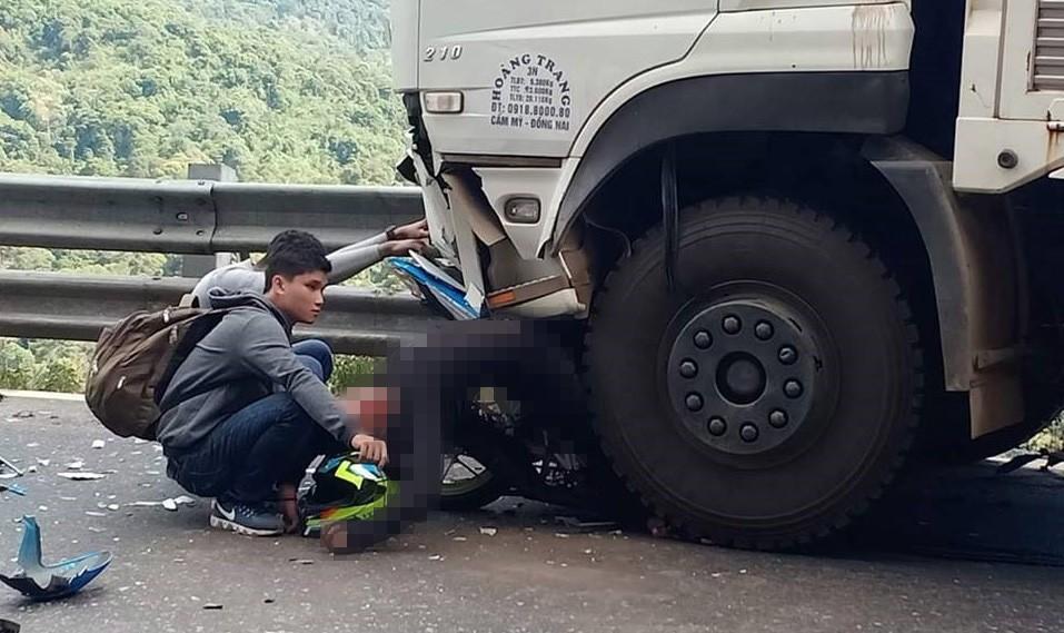người điều khiển xe máy Honda Winner 150 đã tử vong