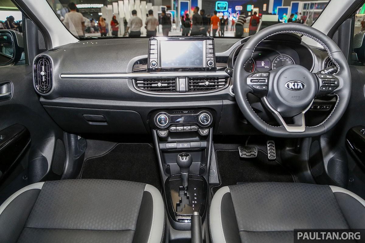 Nội thất bên trong Kia Picanto GT-Line 2019