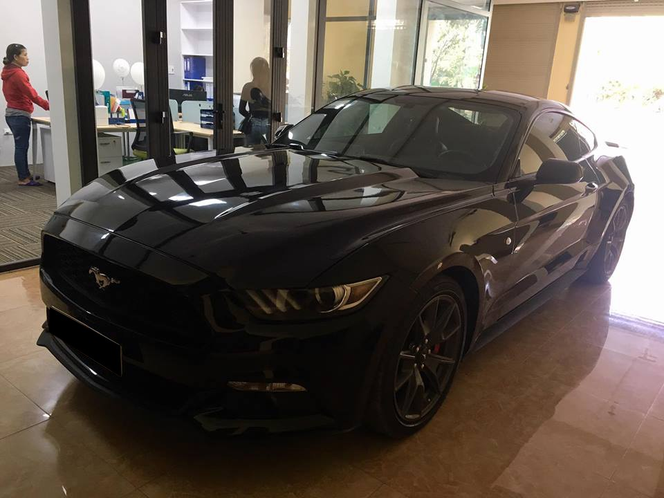 Bộ mâm của phiên bản kỷ niệm 50 năm chiếc Ford Mustang đầu tiên ra đời