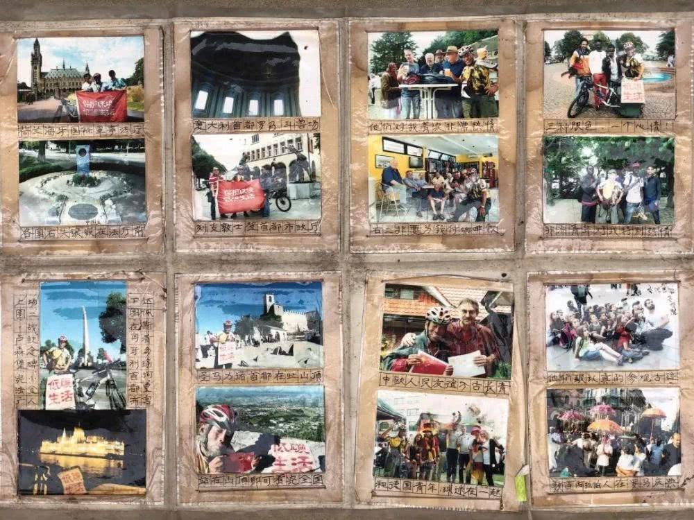 Những bức ảnh minh chứng cho hành trình chu du thế giới của ông Từ