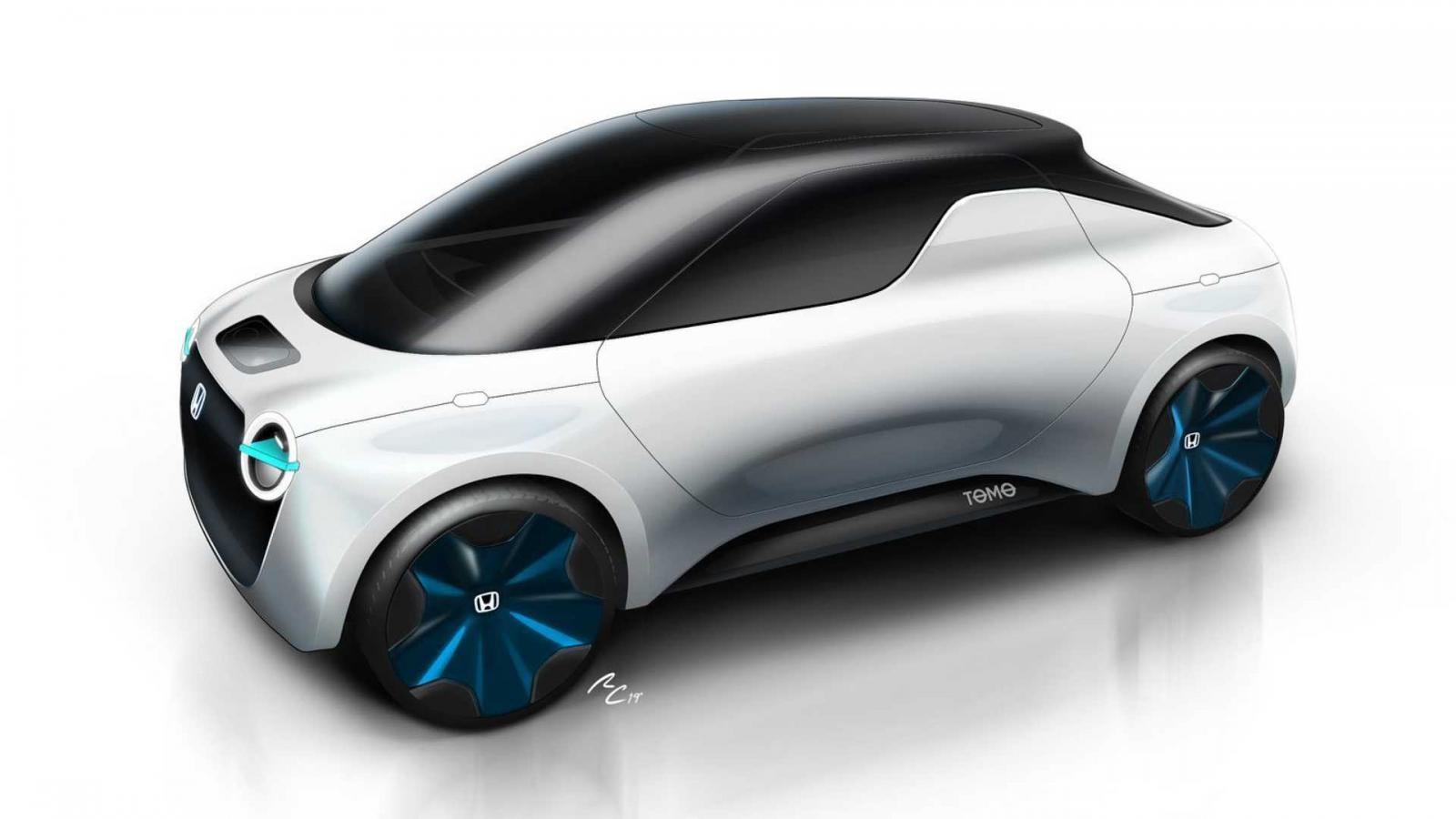 Tomo là một phương tiện nhỏ gọn với khả năng biến đổi từ dạng coupe sang bán tải