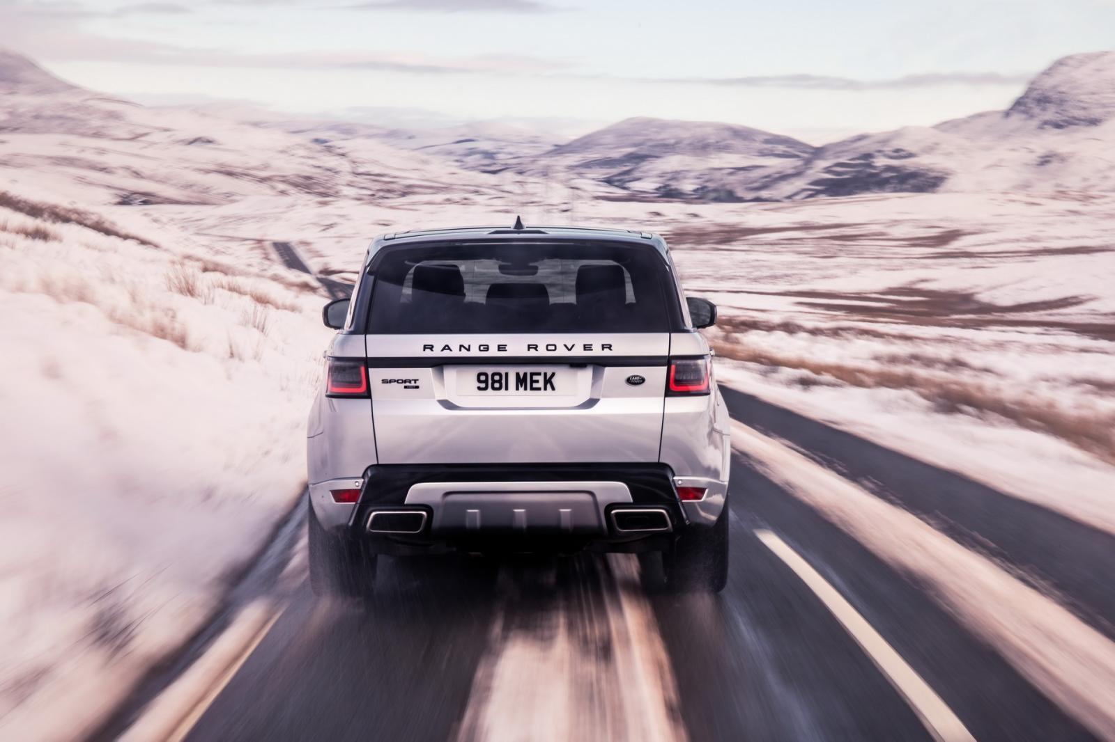 Range Rover Sport HST 2019 dùng hộp số tự động 8 cấp