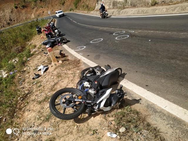 Hiện trường nơi xảy ra tai nạn sau khi giải tỏa