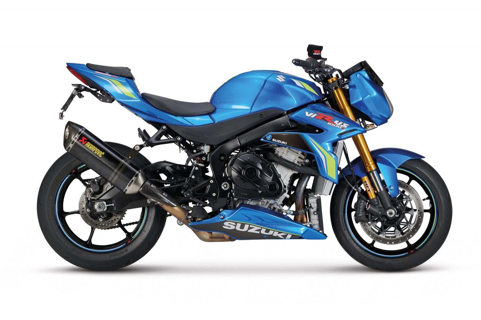 Xe trang bị động cơ mạnh mẽ của Suzuki GSX-R1000R