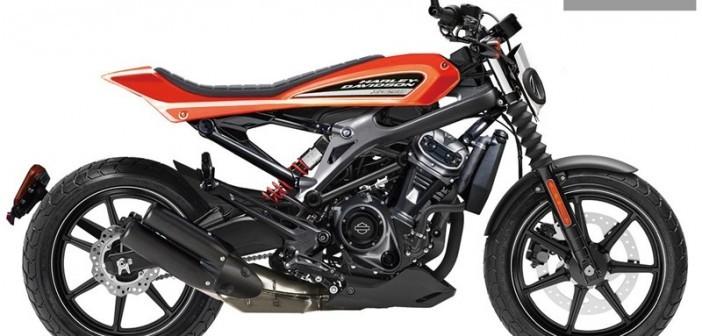 Dự kiến hình ảnh mẫu xe Harley-Davidson 250 phân khối