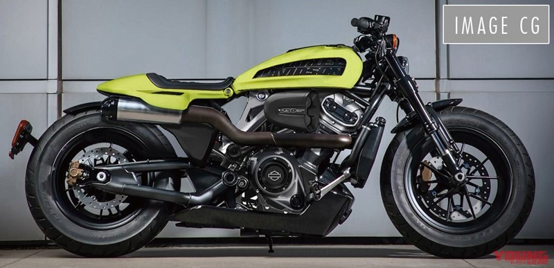 Một hình ảnh khác về mẫu xe Harley-Davidson 250cc