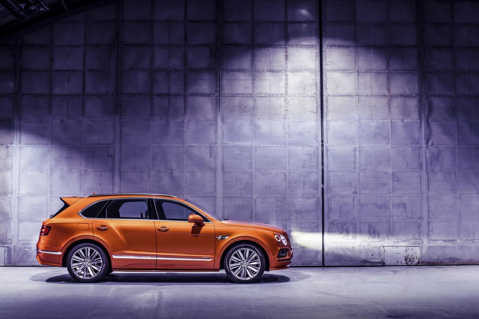 Bentley Bentayga Speed 2019 có hệ thống phanh gốm tùy chọn