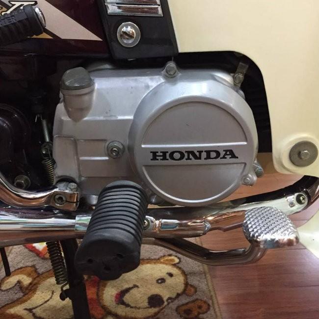 Khối động cơ 100cc siêu tiết kiệm nhiên liệu và bền bỉ của Honda Dream II