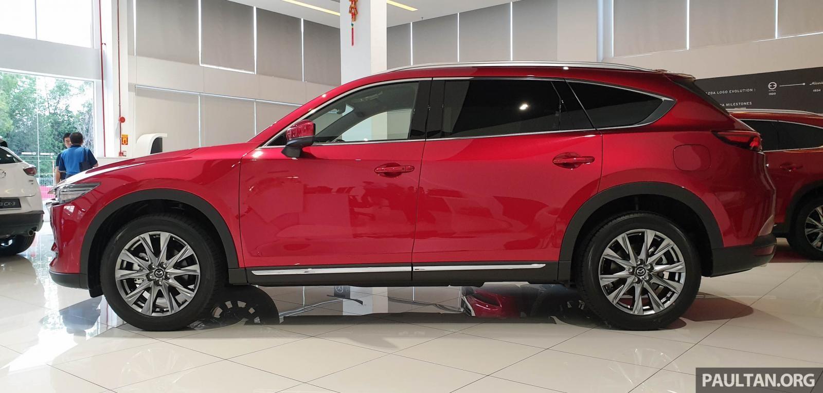 Bộ vành hợp kim 19 inch của Mazda CX-8 2019