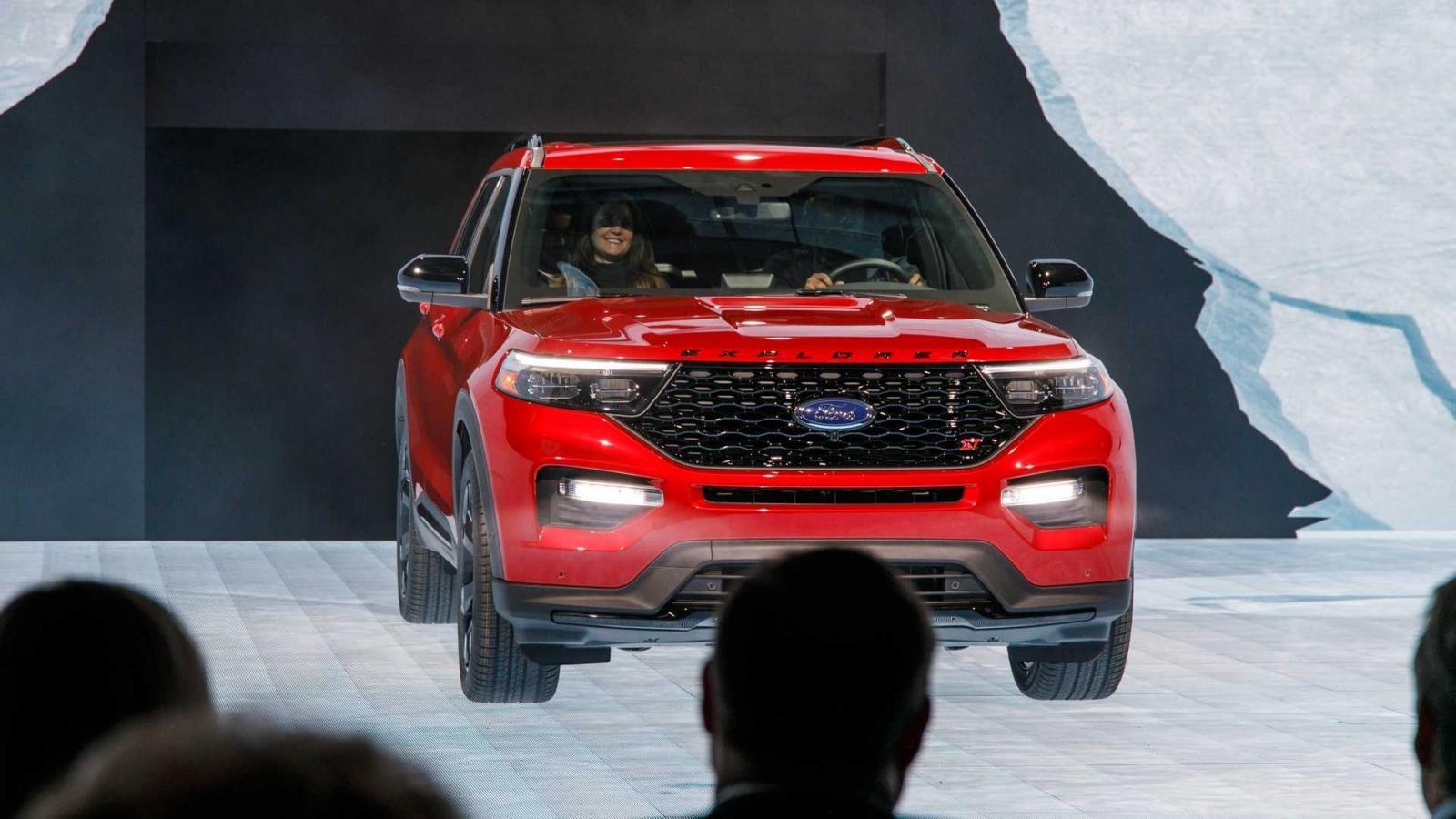 Ford Explorer ST 2020 được trang bị động cơ mạnh mẽ nhất