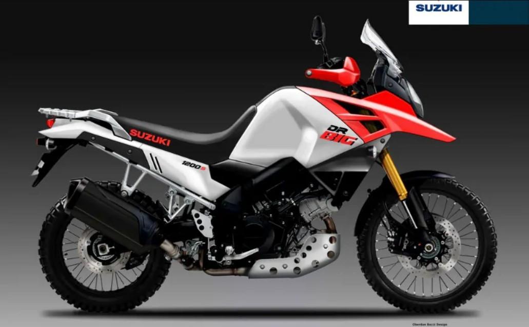 Suzuki DR Big 2020 bản mẫu