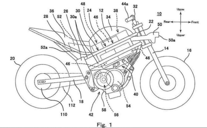 Thiết kế động cơ điện trang bị trên xe mô tô của Kawasaki