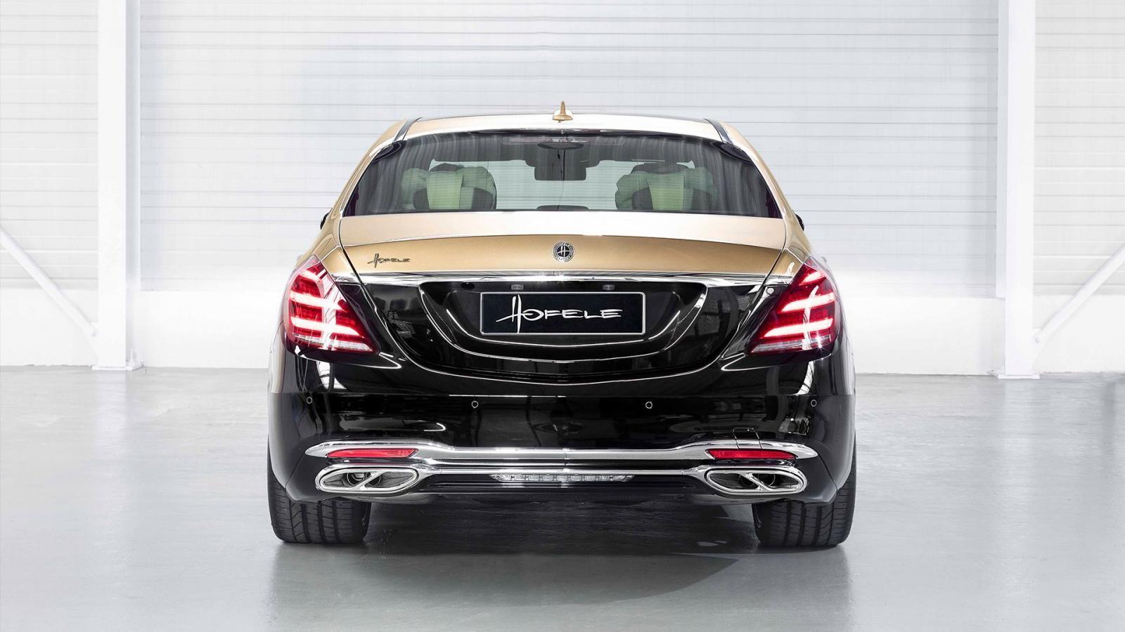 Chiếc Mercedes-Benz S-Class độ có thể vẫn dùng động cơ nguyên bản