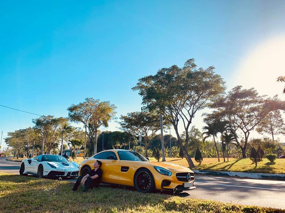 Chiếc Mercedes-AMG GT S Edition 1 này được doanh nhân quận 2 mua tặng cho vợ