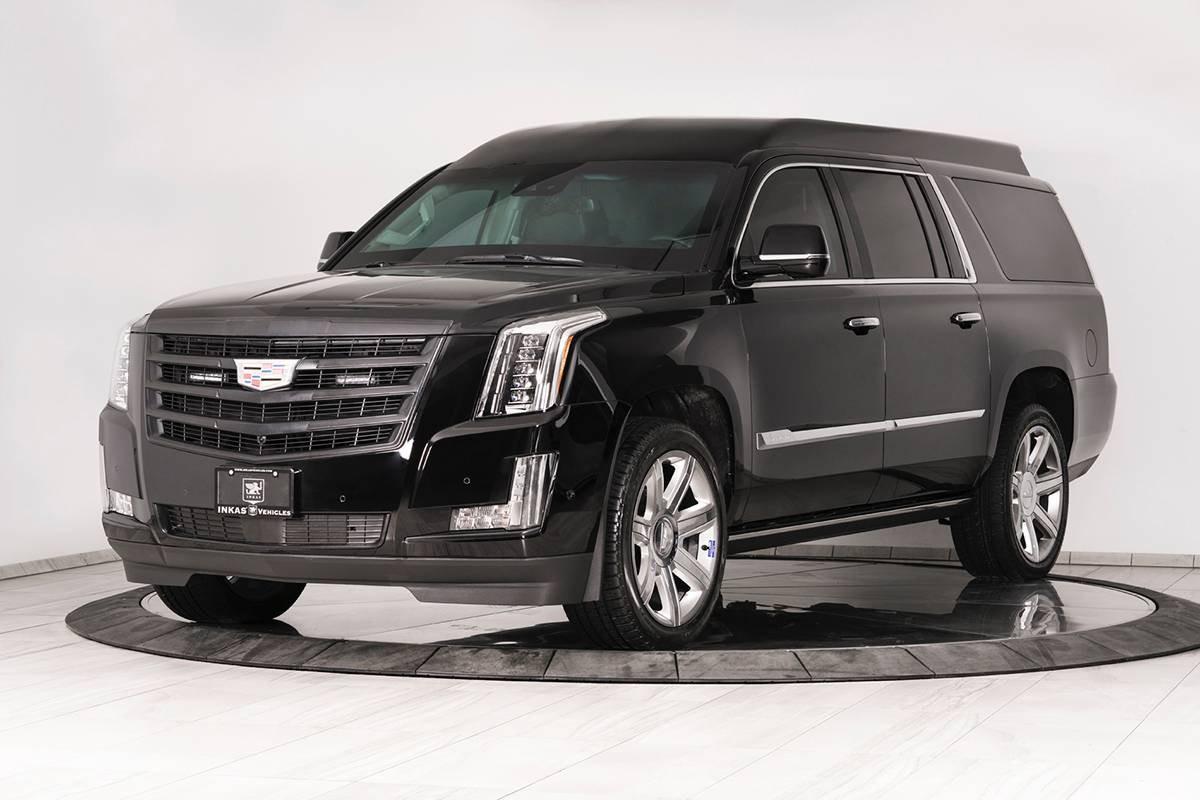 Cadillac Escalade Chairman Package 2019 được bọc thép chống đạn BR6