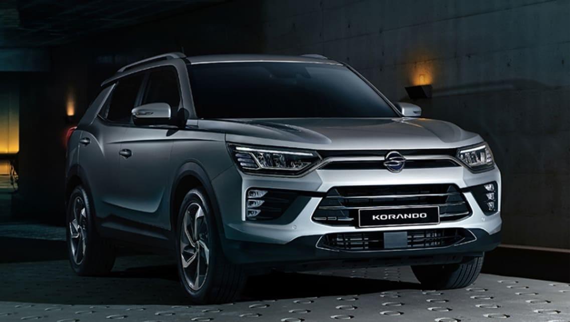 SsangYong Korando 2019 sở hữu nhiều nét thiết kế tương tự G4 Rexton