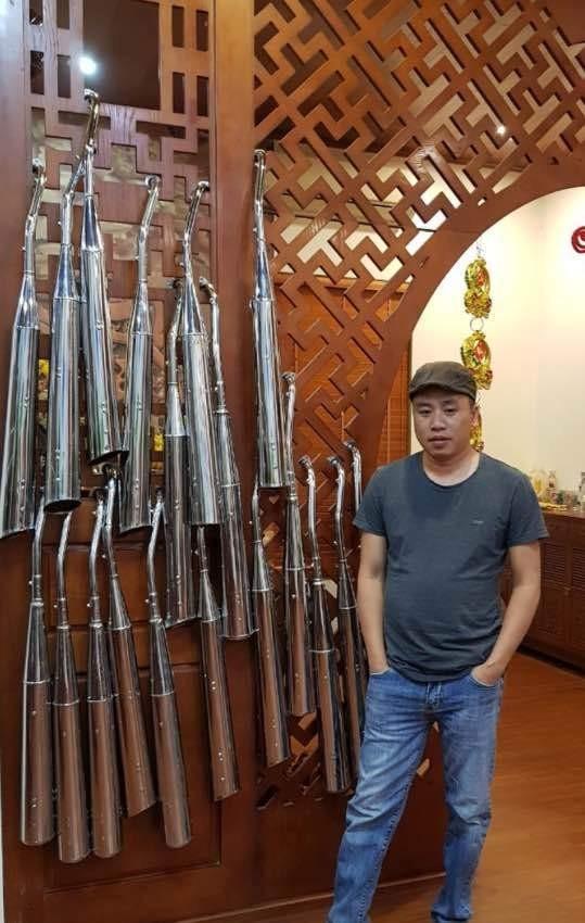 Anh Đỗ Quang Hưng, biệt danh Hưng Sắt
