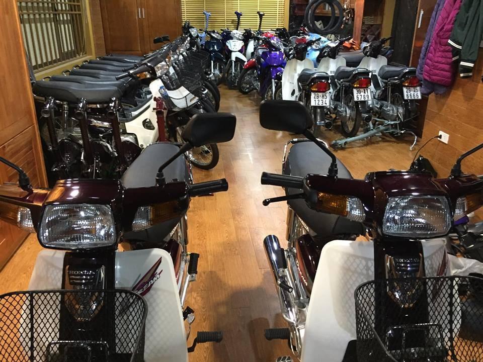 Bộ sưu tập xe Honda Dream với số lượng lên đến 200 xe