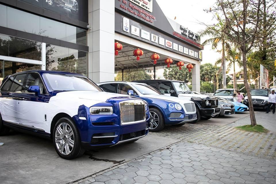 Nhà giàu Campuchia rất ưa chuộng Rolls-Royce Cullinan