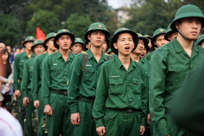 Buổi lễ bàn giao quân được tổ chức vào sáng ngày hôm nay 20/2 tại Hà Nội