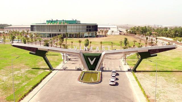 Nhà máy sản xuất xe Vinfast tại Hải Phòng
