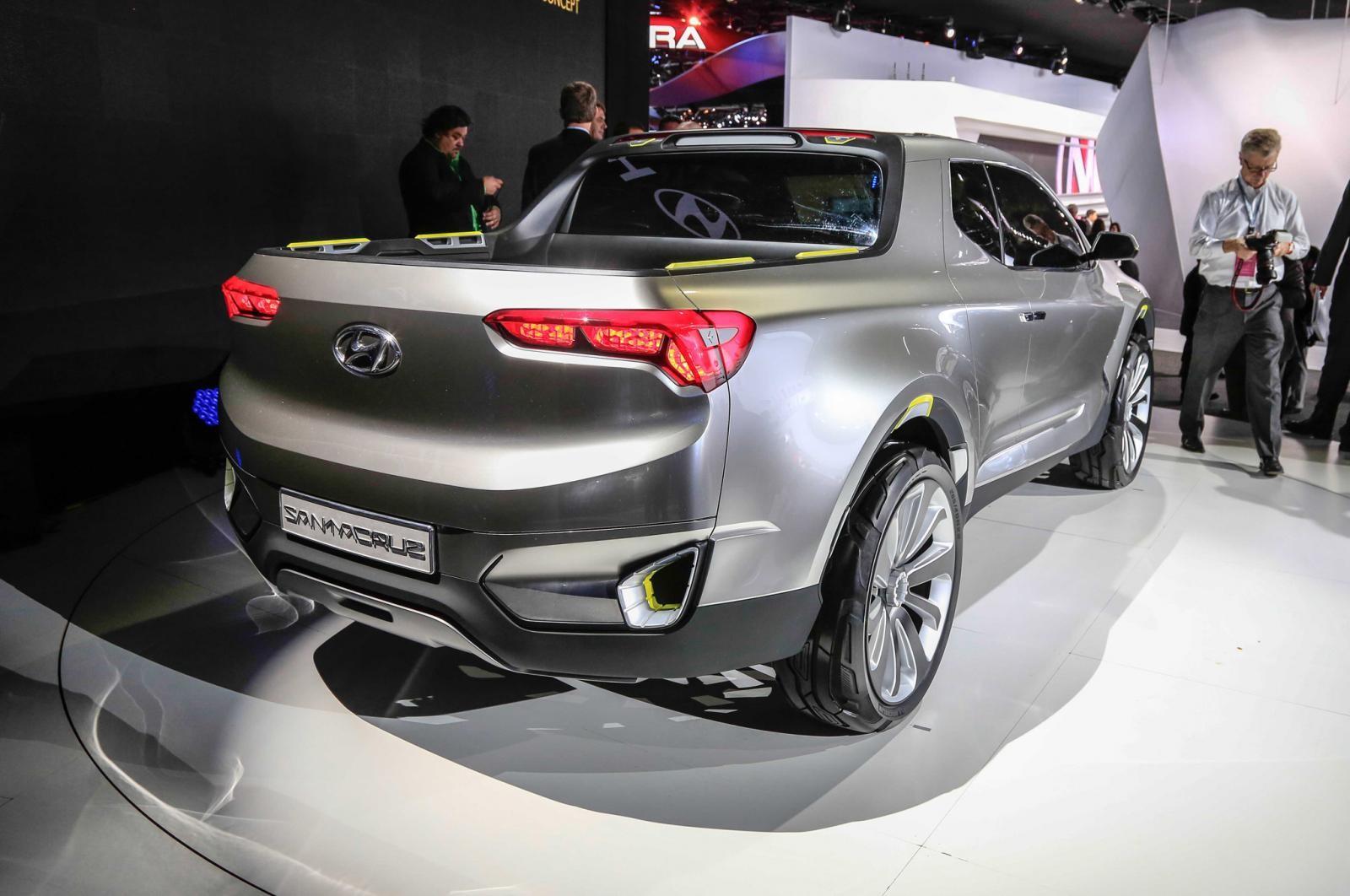 Hyundai Santa Cruz bản thương mại sẽ có thiết kế khác so với bản concept