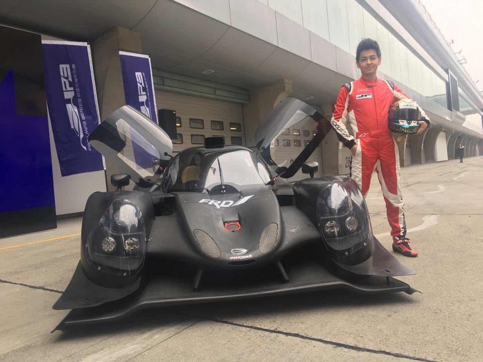 Chiếc xe đua của Lâm Chí Dĩnh