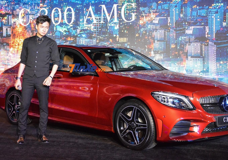 Ít phút sau đó, Ngô Kiến Huy cho biết đã đặt mua Mercedes-Benz C-Class 2019