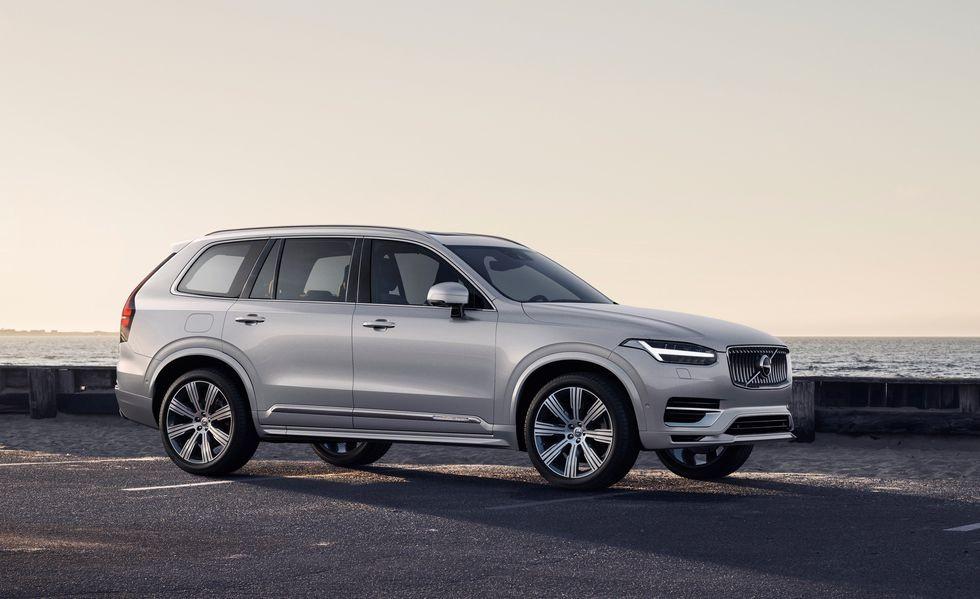 Volvo XC90 2020 có thêm lưới tản nhiệt mới