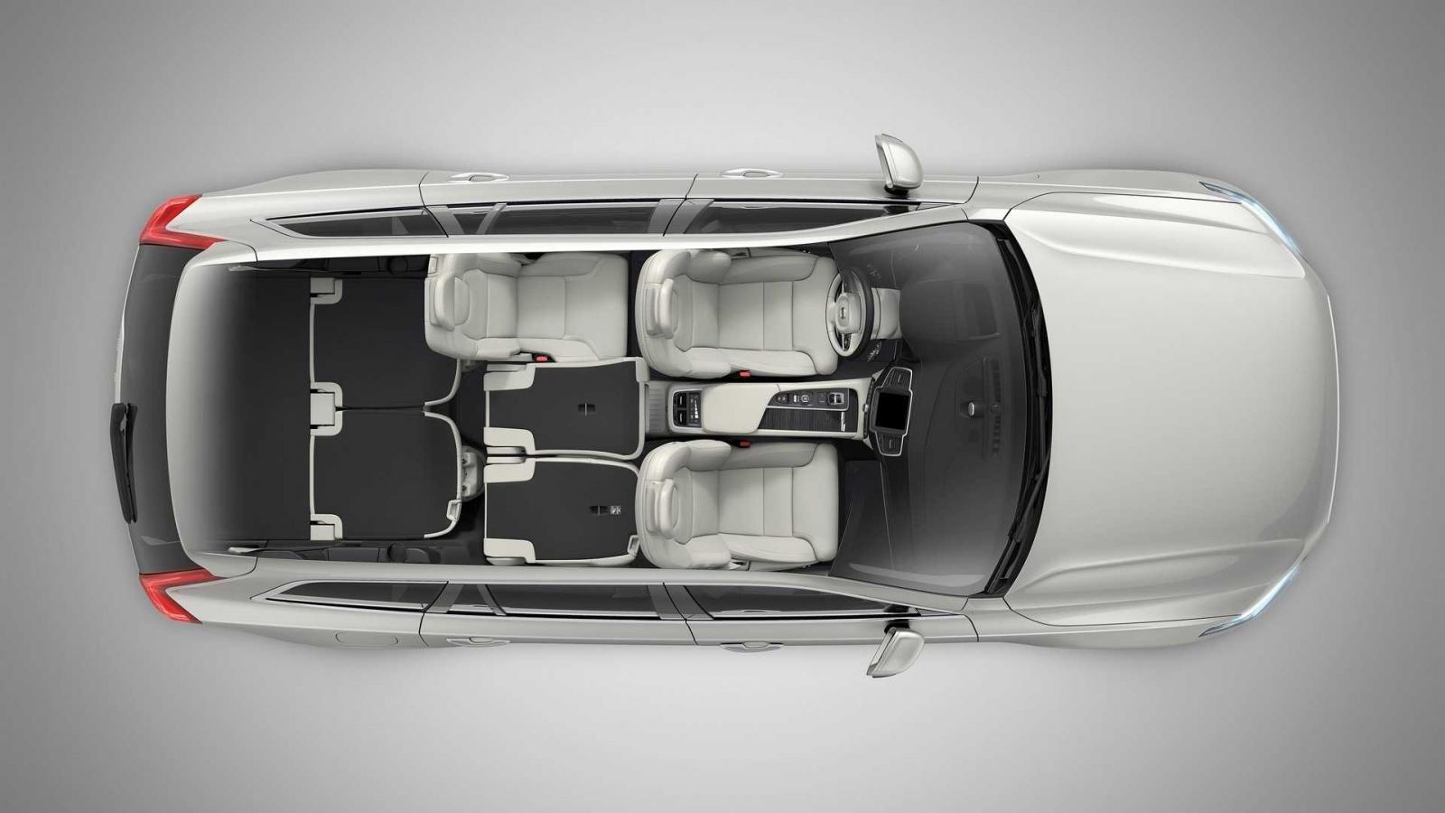 Cấu hình 3 chỗ của Volvo XC90 2020
