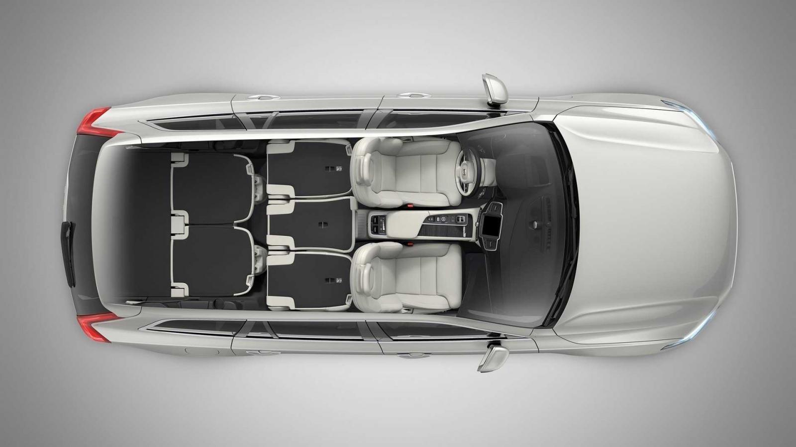 Cấu hình 2 chỗ của Volvo XC90 2020