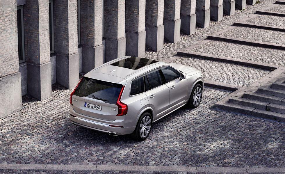 Thiết kế đuôi xe của Volvo XC90 2020 chẳng có gì thay đổi