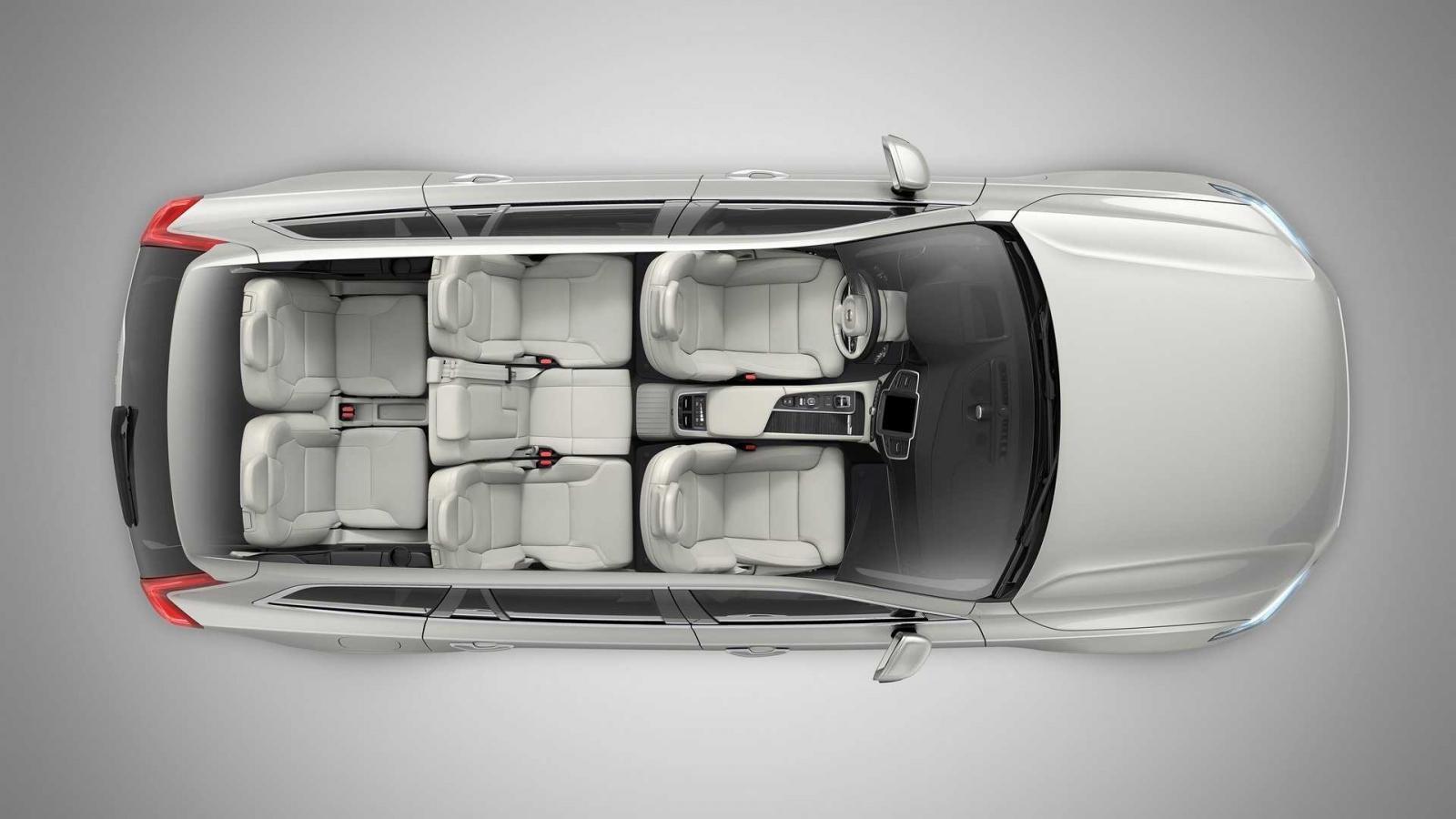 Cấu hình 7 chỗ của Volvo XC90 2020