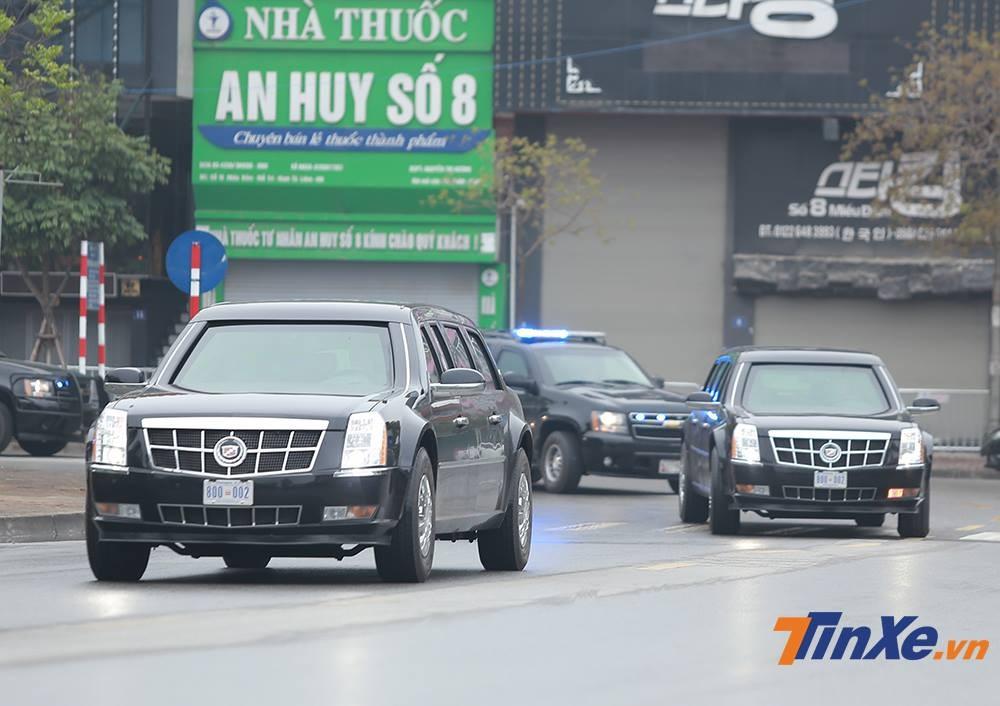 Hai chiếc Cadillac One được mệnh danh là The Beast