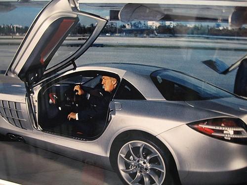 Tổng thống Mỹ và siêu xe Mercedes-Benz SLR McLaren