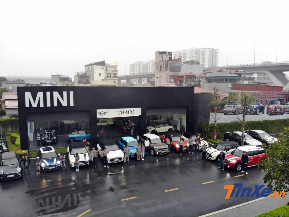 Dàn xe MINI chuẩn bị cho chuyến du xuân 2019.