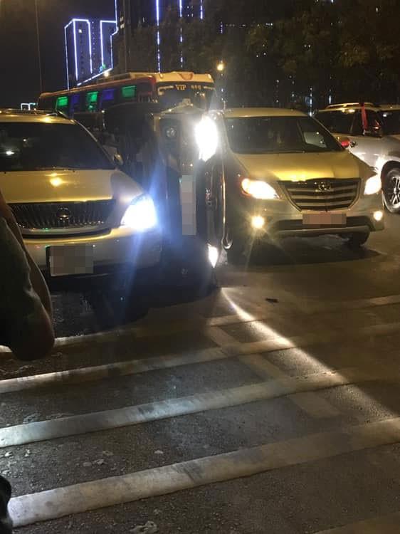 Hiện trường vụ tai nạn của chiếc Honda City